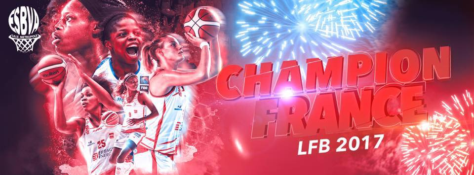 l'ESBVA LM Champion de France !!!