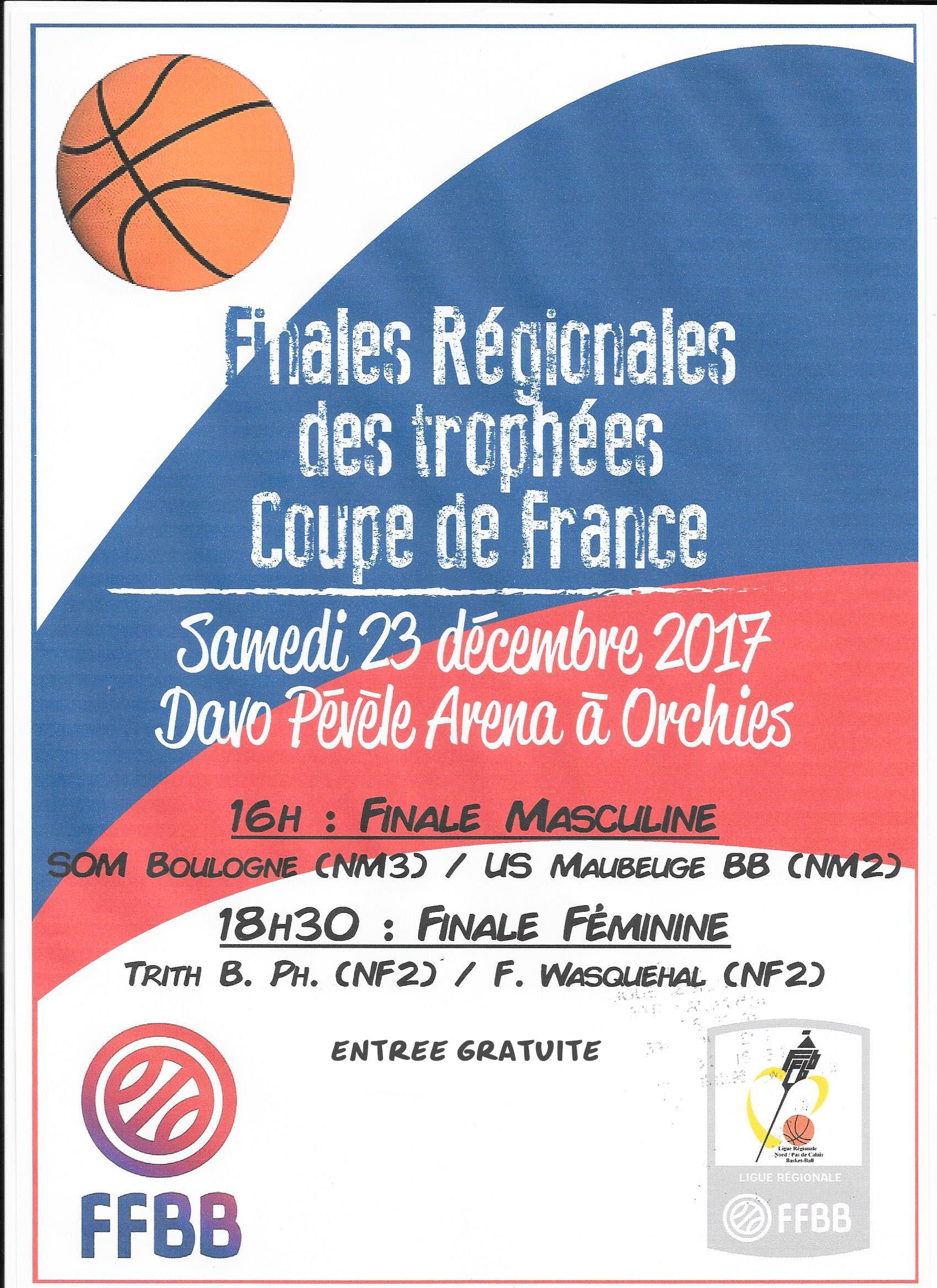 Les Finales Trophées Coupe de France Seront Solidaires !