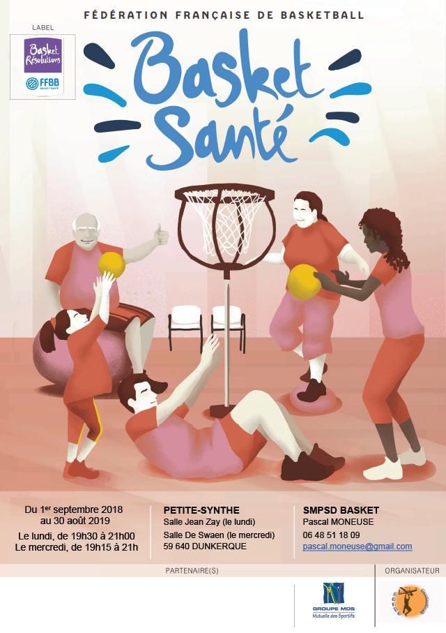 Un Nouveau Label Basket Santé à Petite-Synthe