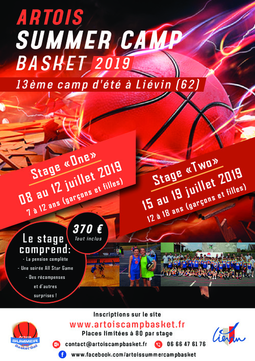 Artois Summer Basket Camp 2019 | U18