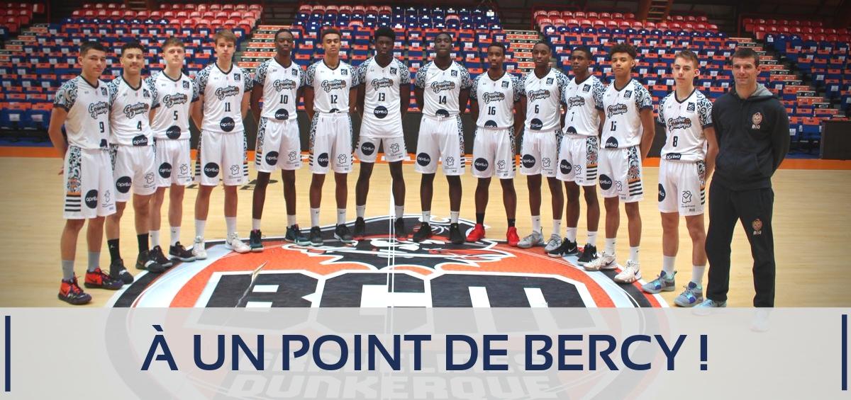 Coupe de France : Les U17 du BCM s'inclinent en 1/2 finale