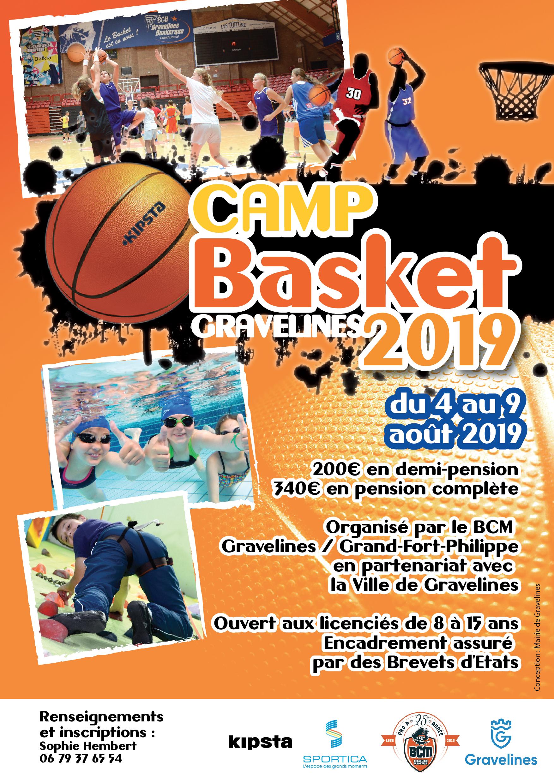 Camp Basket Gravelines 2019