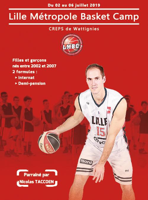 Lille Métropole Basket Camp