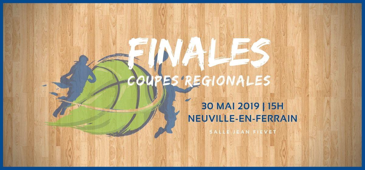 Finales des Coupes Régionales, le 30 Mai à Neuville-en-Ferrain