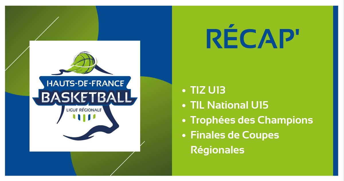 TIZ, TIL, Coupes Régionales, Trophées des champions… Le Récap'