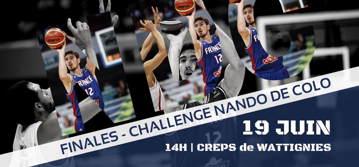 Finales du Challenge Nando De Colo