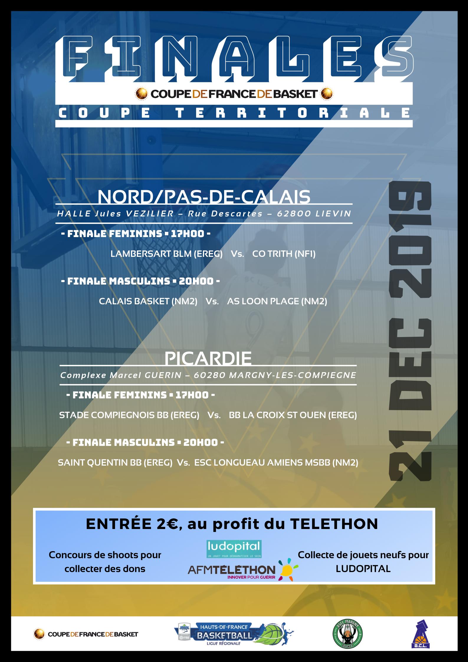 Finales Territoriales • Trophée Coupe de France