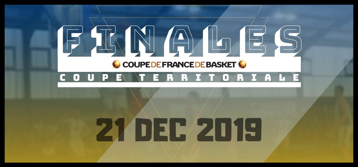 Les finales territoriales du Trophée Coupe de France, à Liévin et Margny, le 21 Décembre.