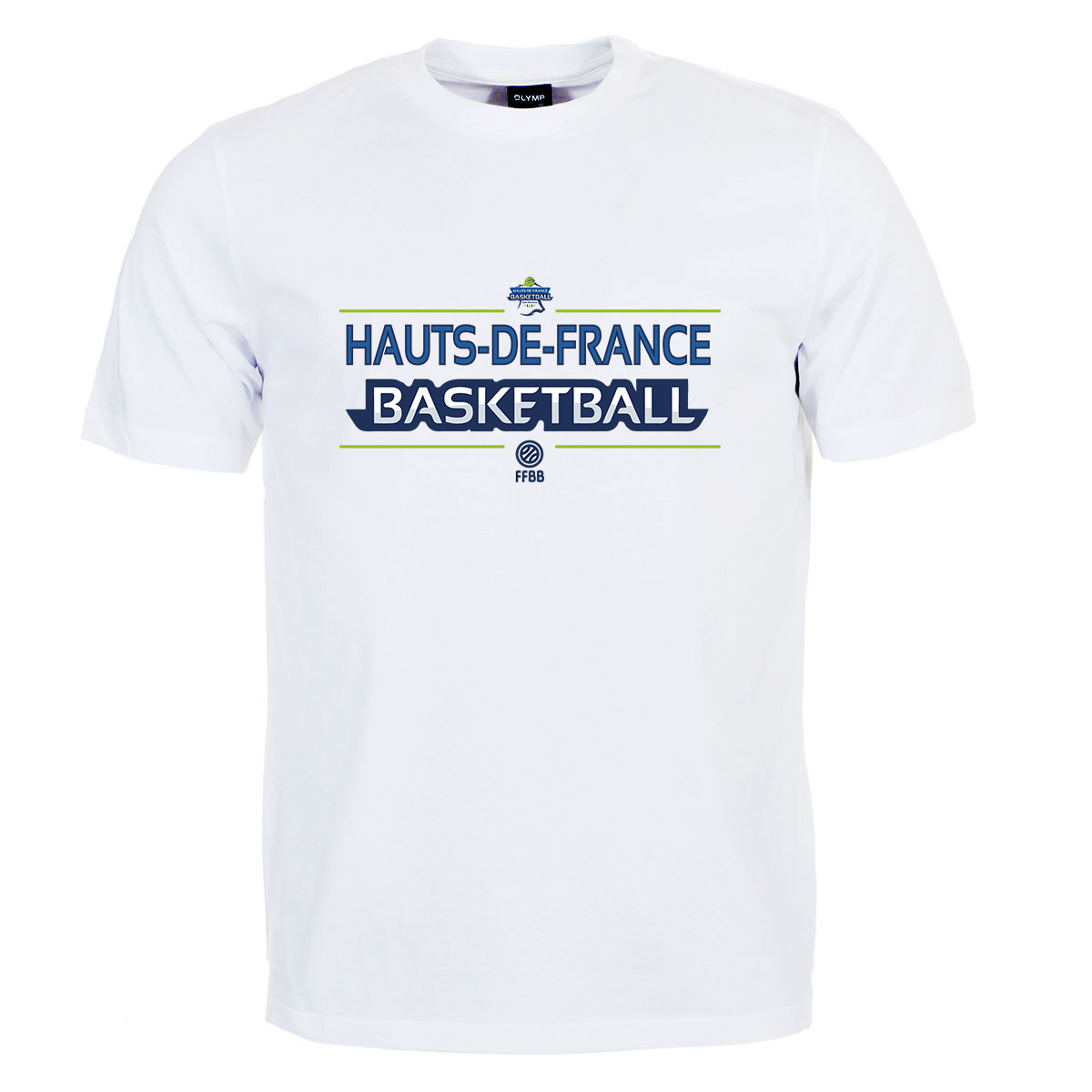 T-Shirt HDF BASKETBALL®+ Logo FFBB®