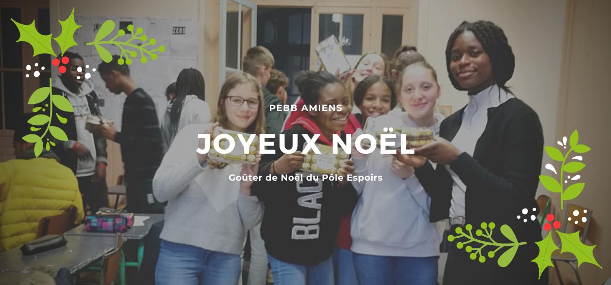 Gouter de Noël du PEBB d'Amiens