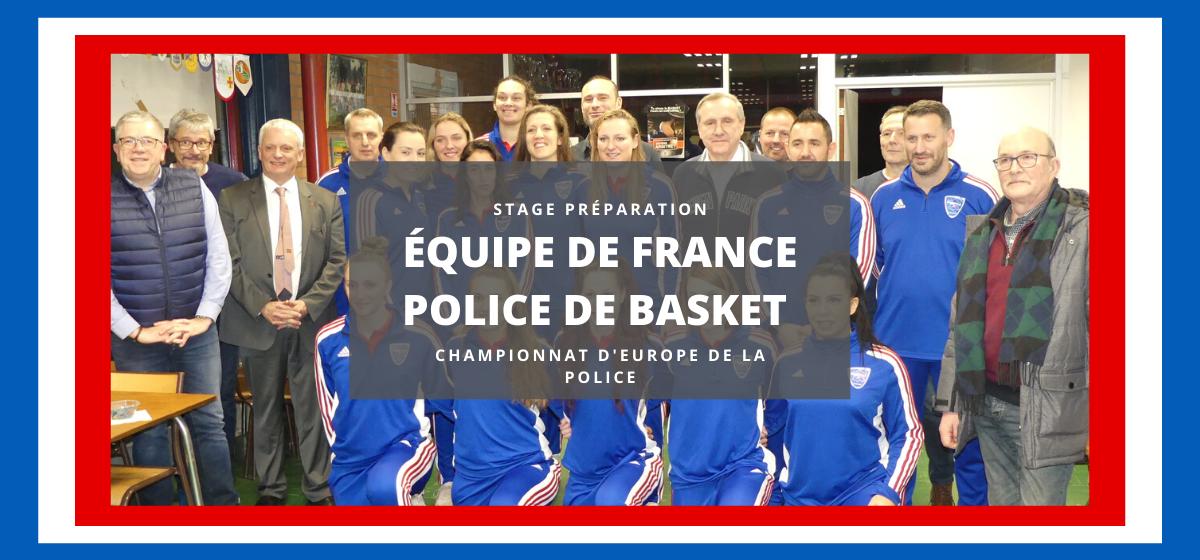 Les filles de l'équipe de France Police, remettrons leur titre en jeu cet été.