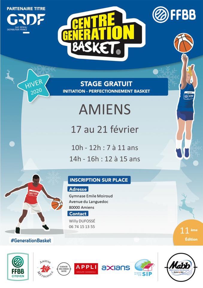 Centre Génération Basket – MABB