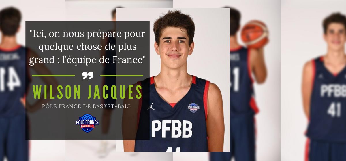Wilson Jacques : de La Réunion au Pôle France