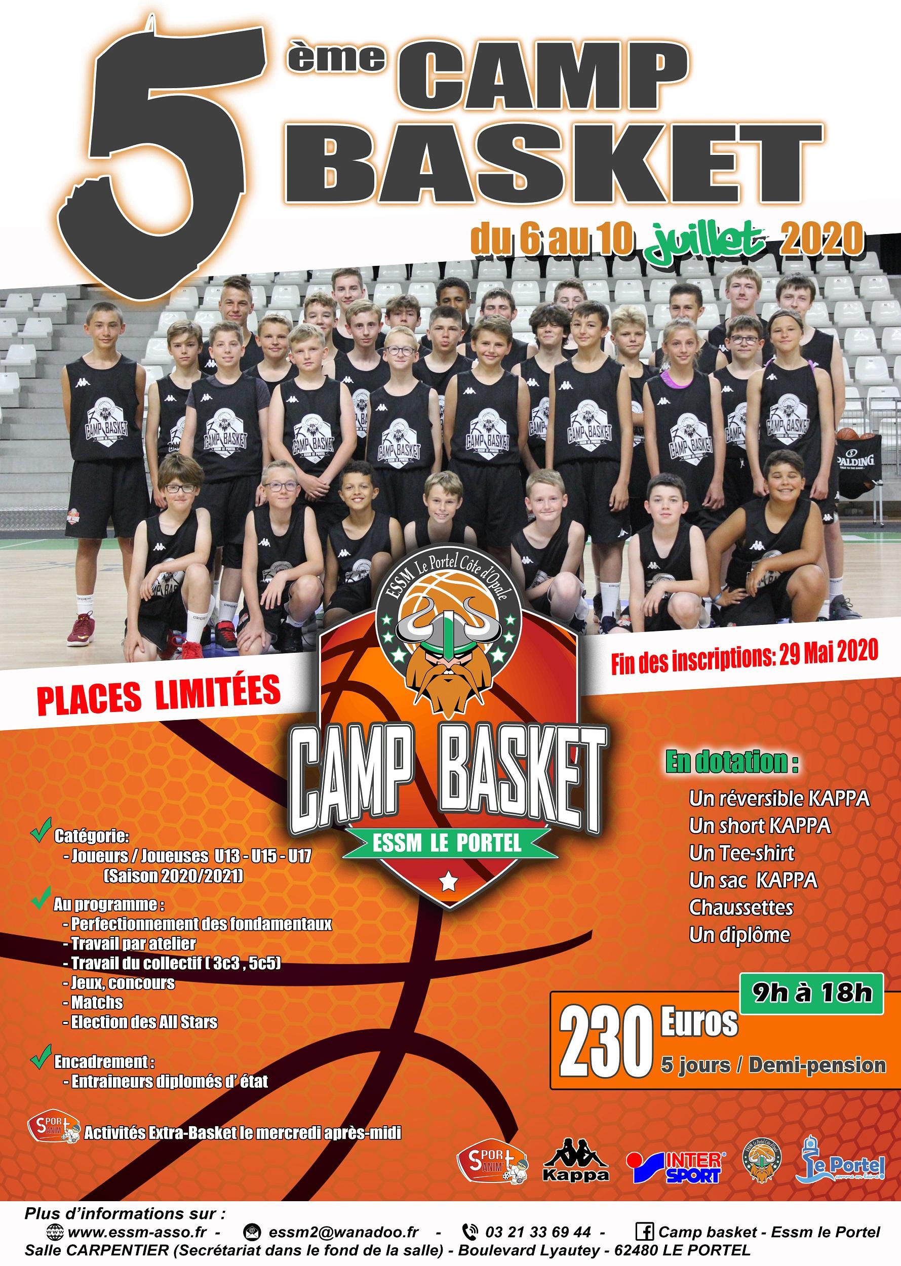 Camp Basket – ESSM