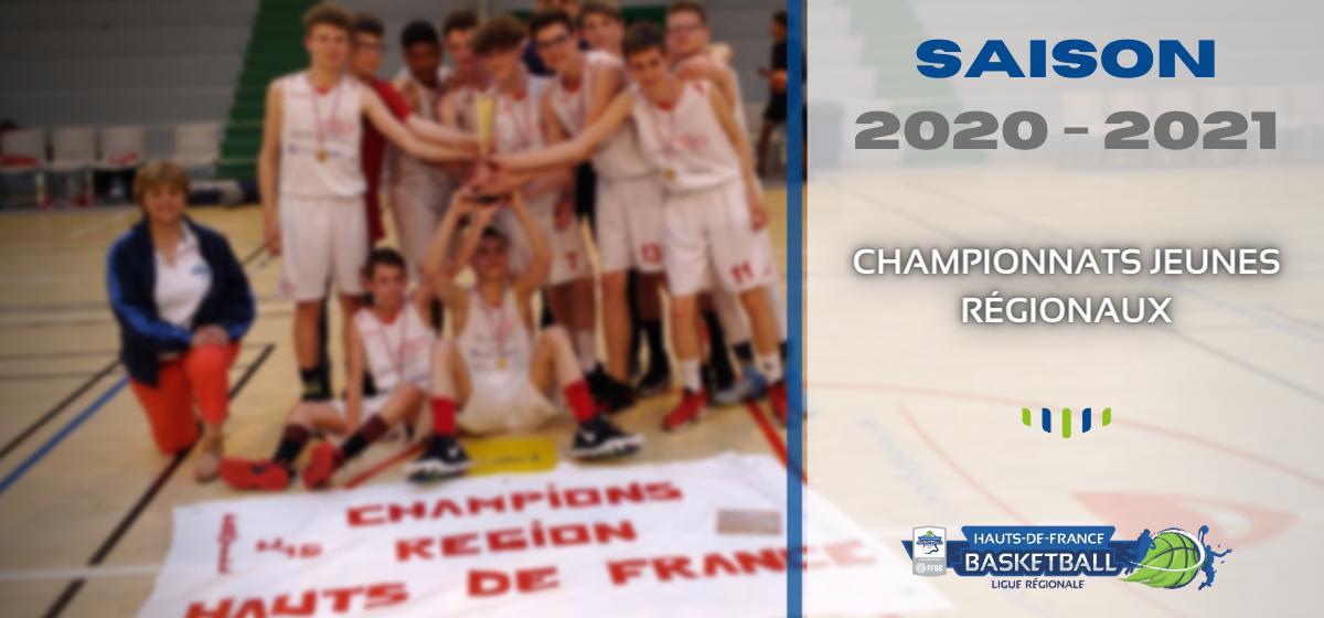 Saison 2020/2021 : les poules des championnats jeunes régionaux