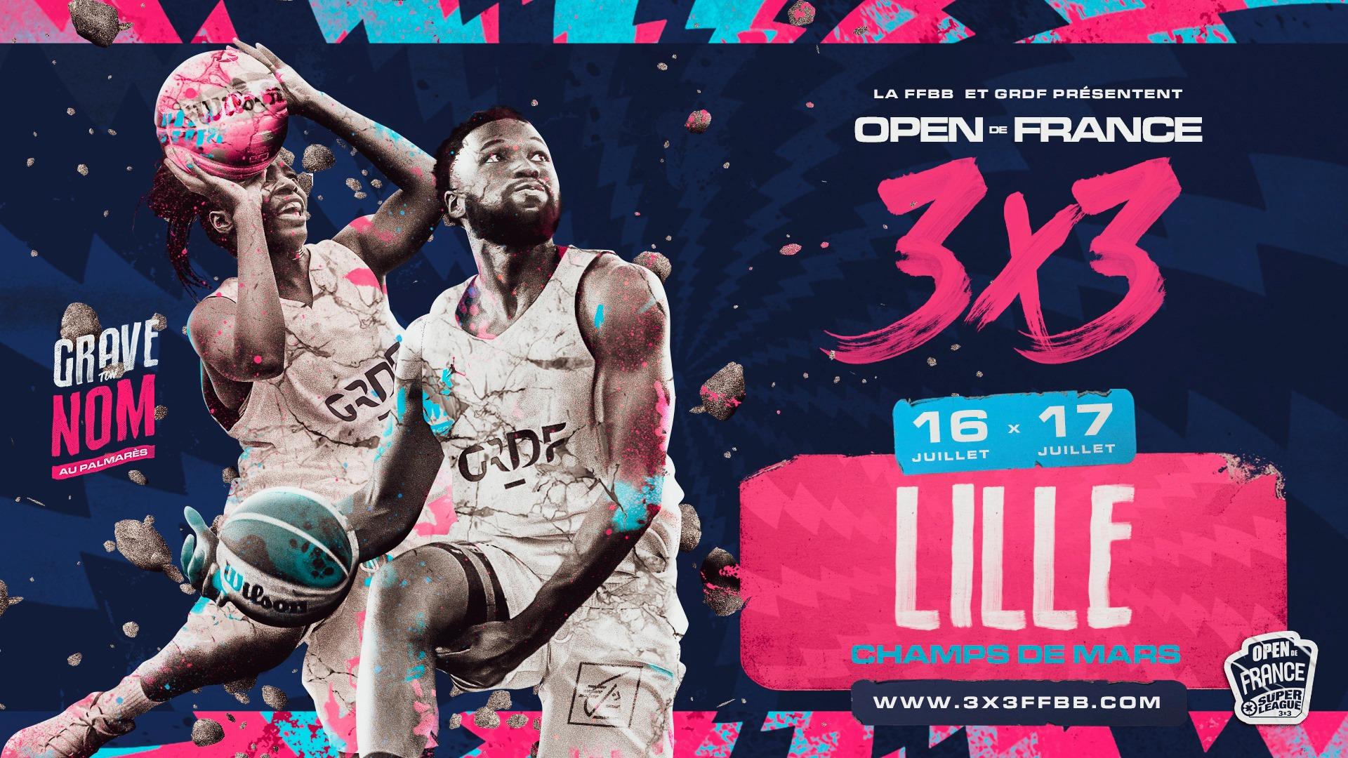 L'OPEN DE FRANCE 3×3 à Lille !