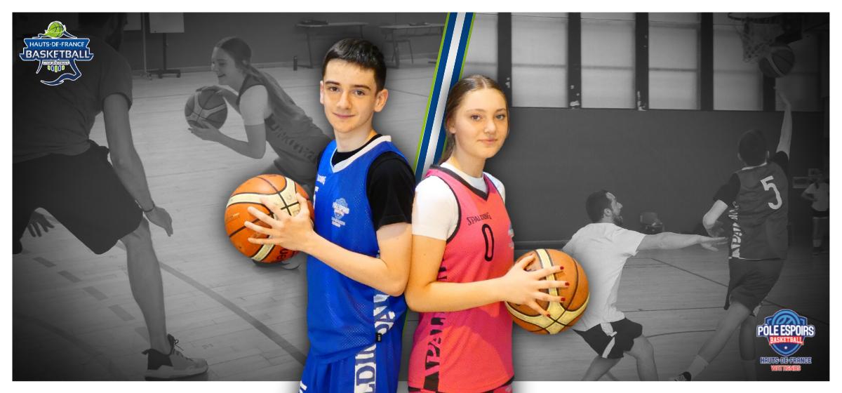 Juliette BOURGEOIS et Ethan WANTELET : sportifs de l'année du Pôle Espoirs de Wattignies !