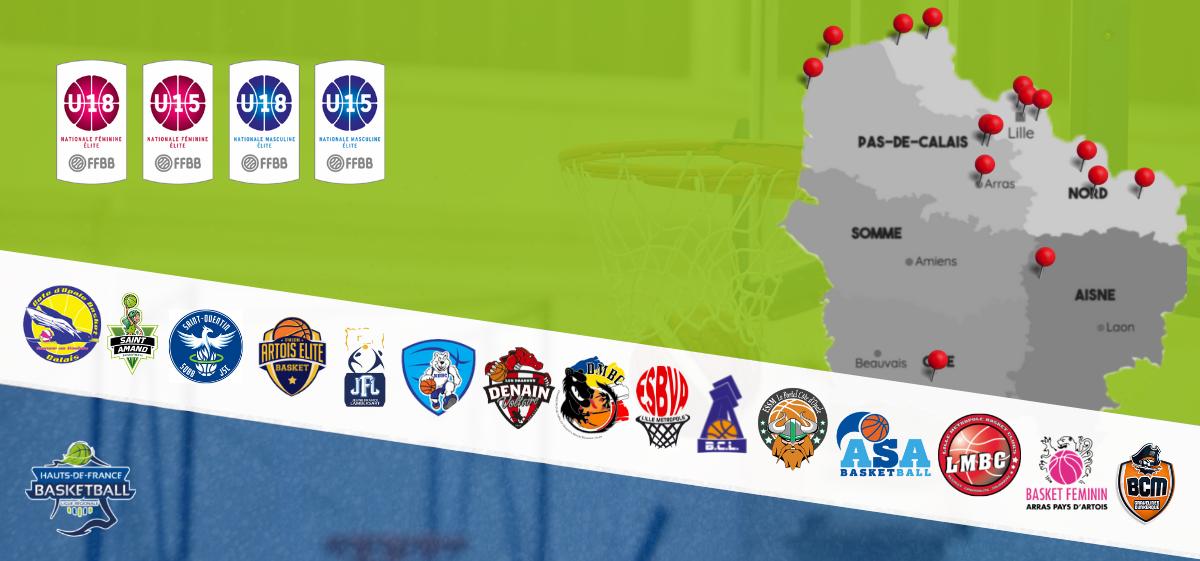 Championnats jeunes nationaux : 15 clubs engagés en championnat de France