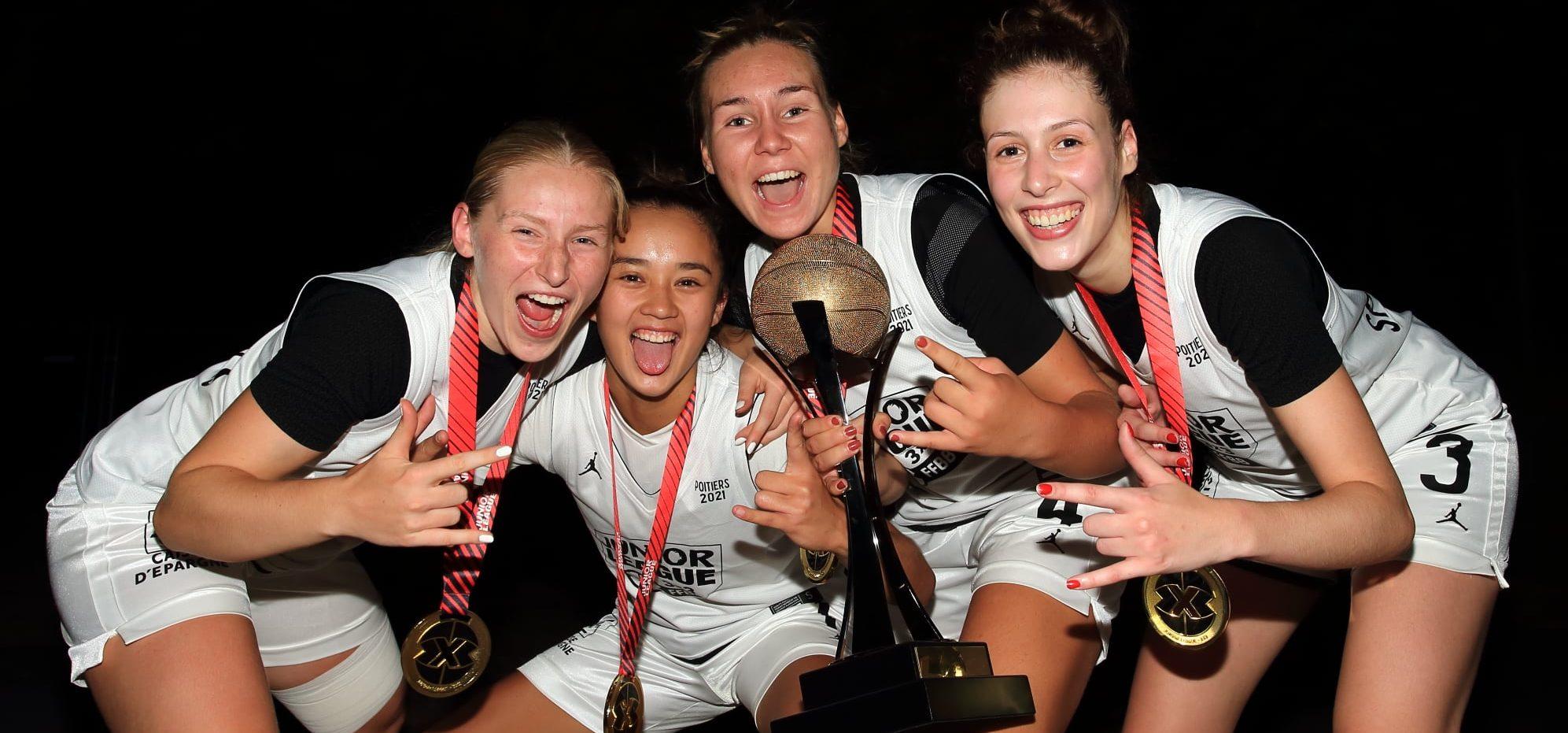 Les «Spicy girls» remportent l'OPEN DE FRANCE 3×3 Juniorleague (U18)